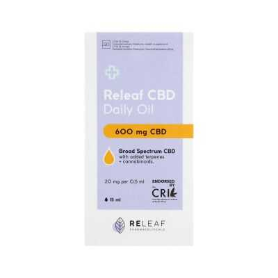 Releaf 600mg CBD Oil Drops